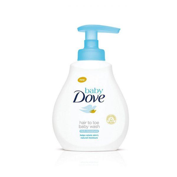 Baby Dove Rich Moisture Hair to Toe Baby Wash, dove body wash, baby body wash