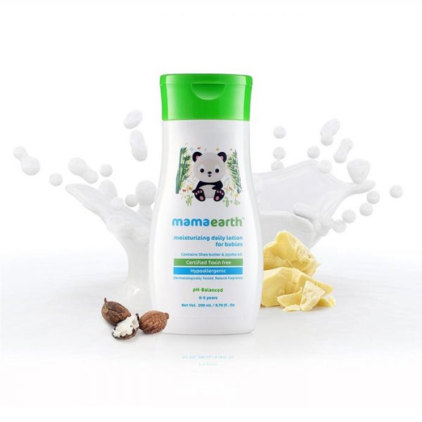 Mamaearth Moisturising Daily Lotion, baby lotion, body lotion