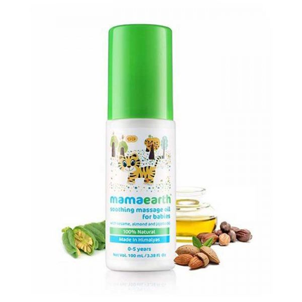 Mamaearth Soothing Massage Oil, mamaearth massage oil