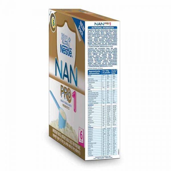 Nestlé Nan Pro 1 Starter Infant Formula, baby milk nestle