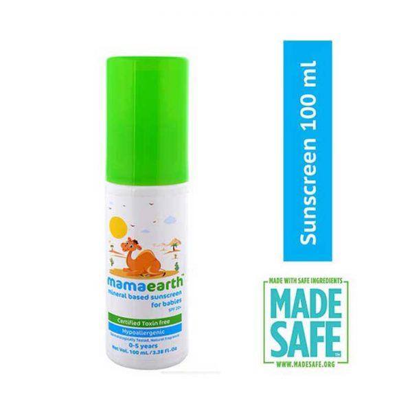 Mamaearth Baby Sunscreen, baby sunscreen, mamaearth sunscreen