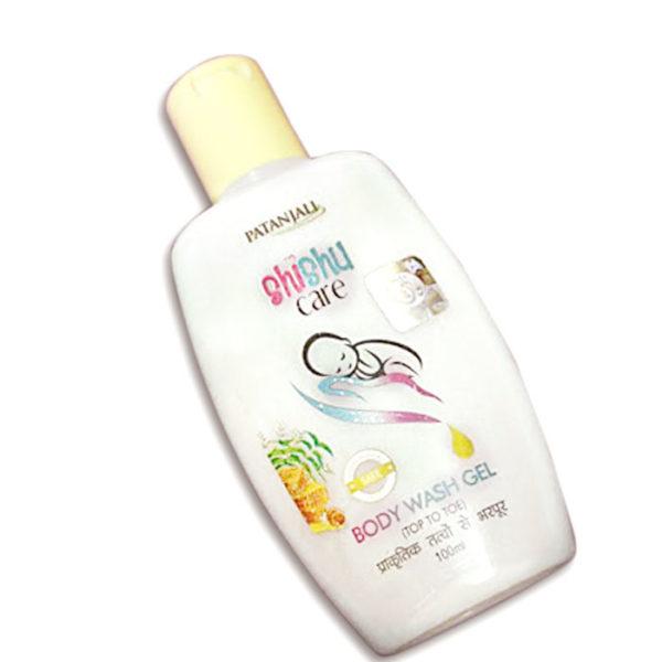 Patanjali body wash gel image, body wash gel