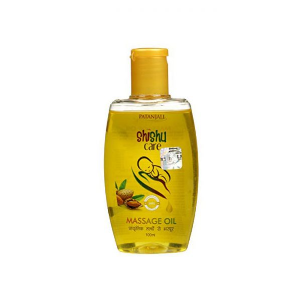 Patanjali Shishu Care Massage Oil, baby massage oil