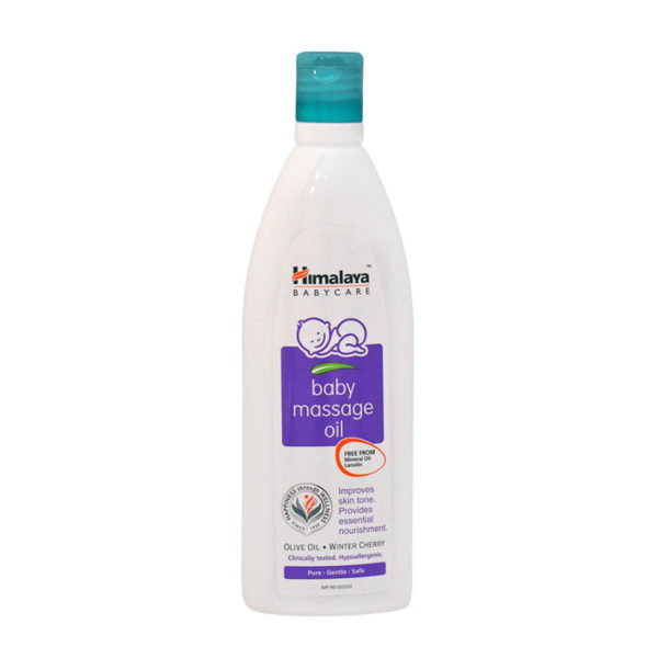 Himalaya Herbals Baby Massage Oil, baby massage oil