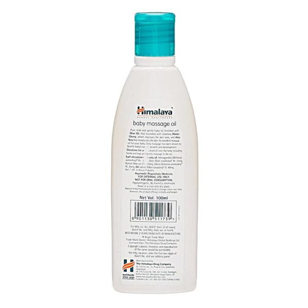 Himalaya Herbals Baby Massage Oil, massage oil