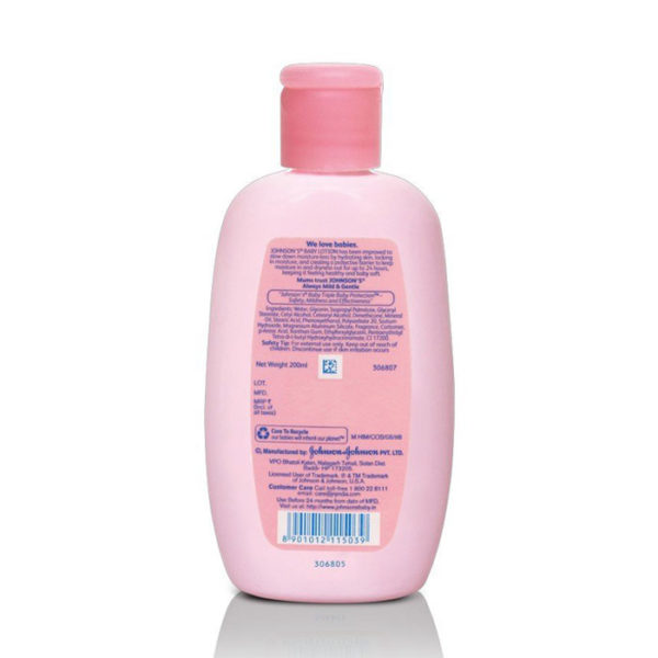 Johnson's Baby Lotion, baby lotion