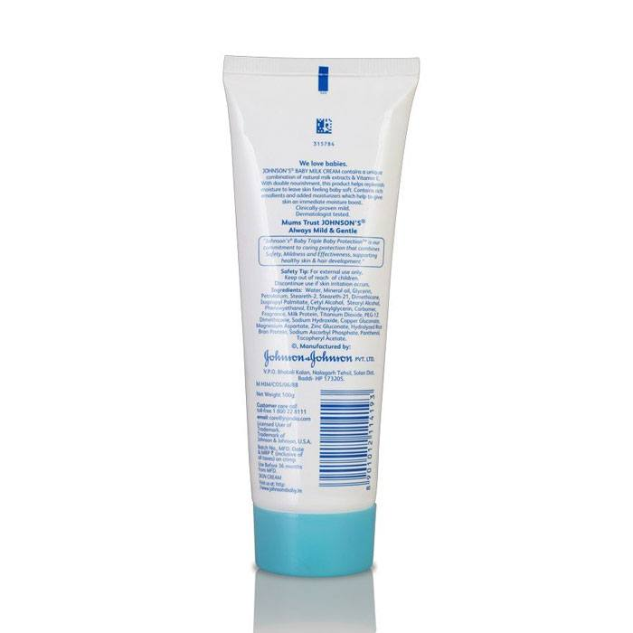Johnson s Baby Milk Cream - Buy at lowest price   Baby360 1ff4fc5917