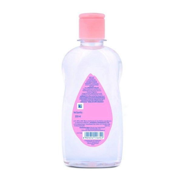 Johnson's Baby Oil, massage oil
