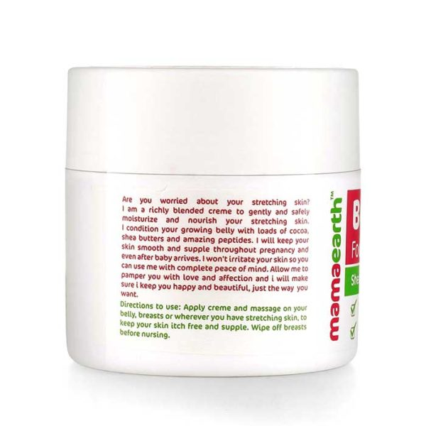 Mamaearth Body Creme, body creme for stretch marks