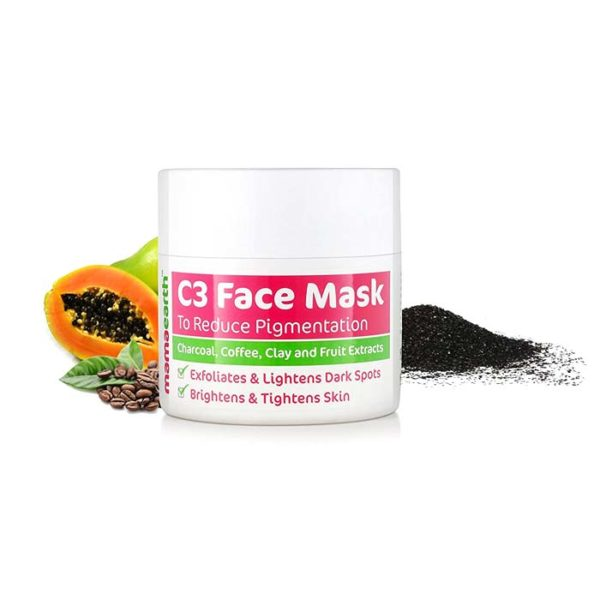 Mamaearth Charcoal, Coffee and Clay Face Mask, face mask